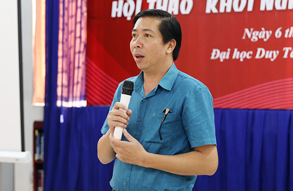 Hội thảo Khởi nghiệp Đổi mới Sáng tạo tại Đại học Duy Tân