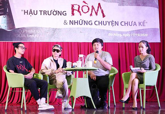 """Ð?o di?n Tr?n Thanh Huy chia s? v? """"H?u tru?ng Ròm và nh?ng chuy?n chua k?"""""""