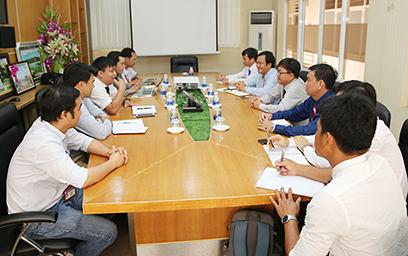 Đại học Tiền Giang đến Thăm và Làm việc với ĐH Duy Tân