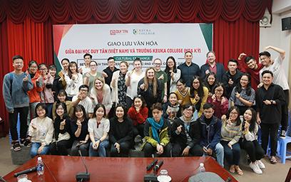 Sinh viên Duy Tân Giao lưu với Sinh viên Đại học Keuka (Mỹ)