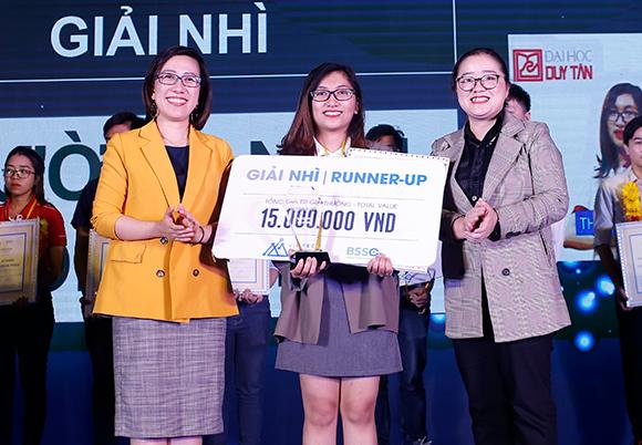 """Sinh viên Đại học Duy Tân giành giải Nhì cuộc thi Khởi nghiệp Công nghệ """"Se DTU-7c-65"""