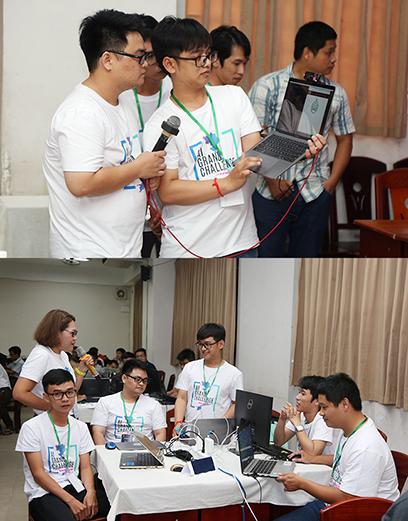 Ð?i h?c Duy Tân do?t gi?i Nhì t?i Hackathon Vietnam AI Grand Challenge 2019