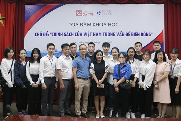 """Đại học Duy Tân tổ chức Tọa đàm: """"Chính sách của Việt Nam trong Vấn đề biển Đông"""""""