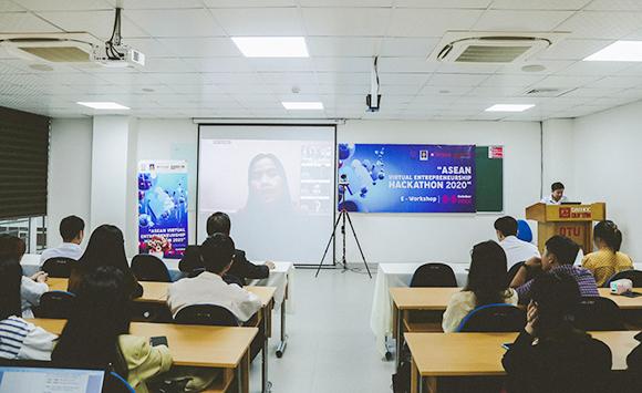 """Đại học Duy Tân đồng Tổ chức Cuộc thi Khởi nghiệp """"ASEAN Virtual Entrepreneurship Hackathon 2020"""""""