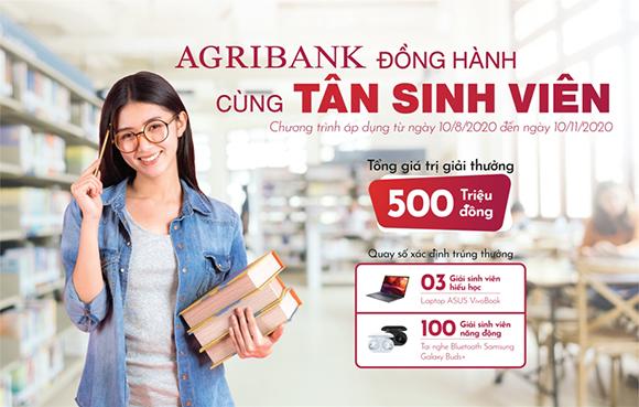 Ngân hàng Agribank Trao thưởng cho Tân Sinh viên Đại học Duy Tân