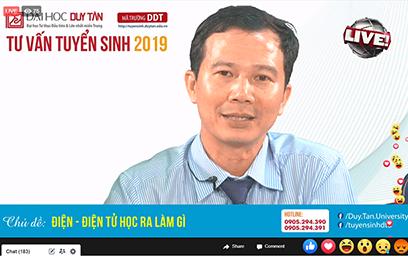 Đại học Duy Tân phát trực tiếp Tư vấn Tuyển sinh 2019