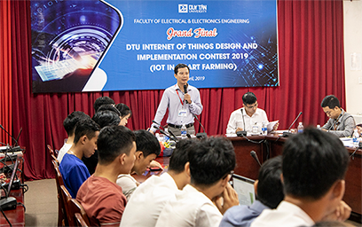 Vòng Chung kết Cuộc thi DTU Internet of Things Design and Implementation Contest 2019