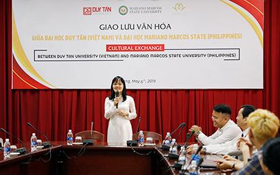 Giao lưu Văn hóa giữa Đại học Duy Tân và Đại học Mariano Marcos State - Philippines