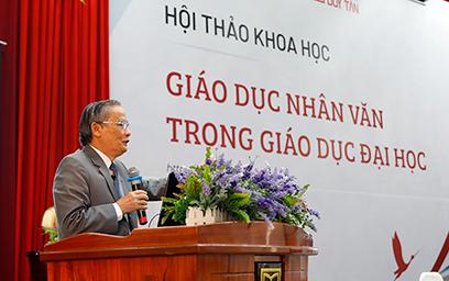 """Đại học Duy Tân tổ chức Hội thảo """"Giáo dục Nhân văn trong Giáo dục Đại học"""" _G6A1516c-56"""
