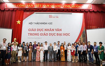 """Đại học Duy Tân tổ chức Hội thảo """"Giáo dục Nhân văn trong Giáo dục Đại học"""""""