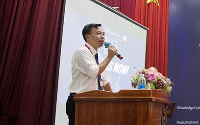 """Sinh viên Duy Tân hòa mình vào Sự kiện Info Seminar """"AI IS NOW"""" _O6A9221c-42"""