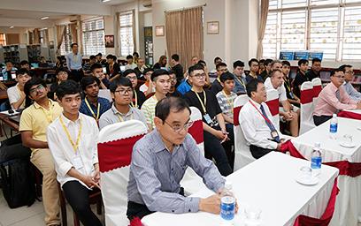 ĐH Duy Tân Tổ chức Chung kết Cuộc thi An toàn Thông tin Quốc tế 2019