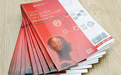 Ngành Sinh học và Vật lý của Tạp chí Khoa học & Công nghệ Đại học Duy Tân được tính điểm công trình