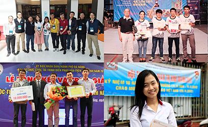 Sinh viên Khoa Đào tạo Quốc tế đoạt nhiều giải thưởng trong nước và quốc tế
