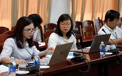 Đoàn Vụ Khoa học Công nghệ về Thăm và Làm việc với Đại học Duy Tân