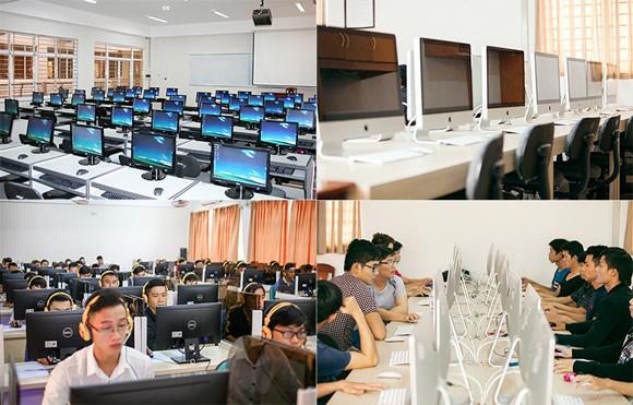 Mạnh thực hành rèn 'Bàn tay vàng' SV CNTT, KT Điện - Điện tử ĐH Duy Tân