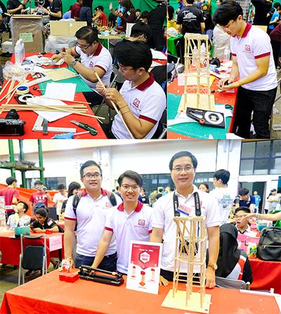 Sinh viên Duy Tân Đạt giải Khuyến khích Thiết kế Nhà chống Động đất 2019 (IDEERS)