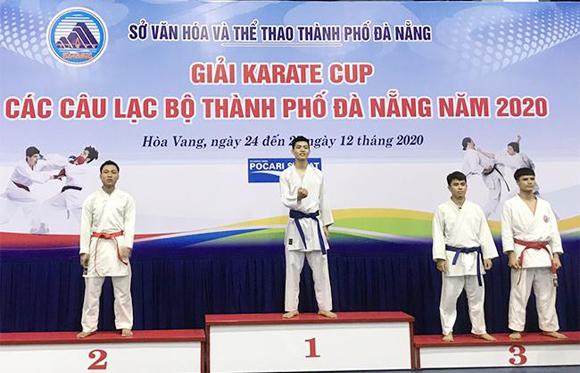 Những thành tích ấn tượng của Đại học Duy Tân tại giải 'Karate Đà Nẵng'