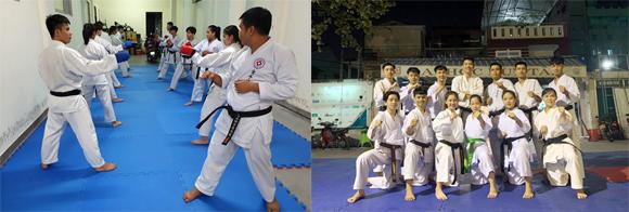 CLB Karate ÐH Duy Tân