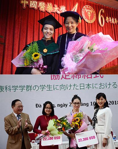 Các giảng viên và sinh viên ĐH Duy Tân ra nước ngoài du học và nhận bằng Thạc sĩ