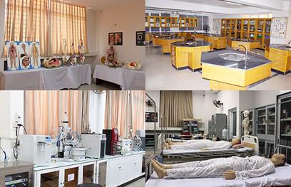 Những trang thiết bị và mô hình giải phẫu hiện đại phục vụ đào tạo ngành Khoa học Sức khỏe tại ĐH Duy Tân