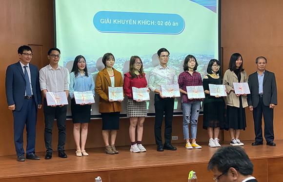 Sinh viên Duy Tân giành giải Khuyến khích Giải thưởng Đồ án Sinh viên Tốt nghiệp Xuất sắc 2019
