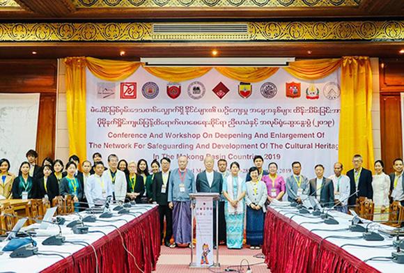 Giảng viên Duy Tân báo cáo tại Hội thảo về Bảo tồn Di sản Văn hóa Quốc tế