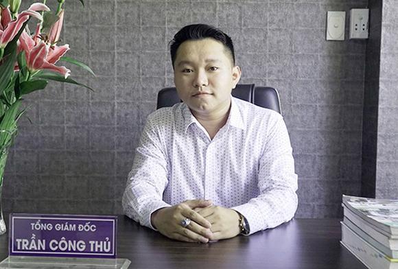 Anh Trần Công Thủ - Tổng Giám đốc Công ty CP Tư vấn Thiết kế & Đầu tư Xây dựng VietConstruction