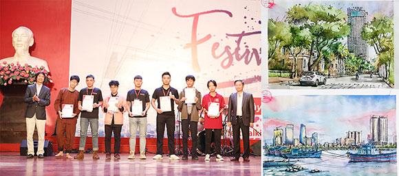 Đại học Duy Tân giành nhiều giải thưởng tại Festival Kiến trúc 2020
