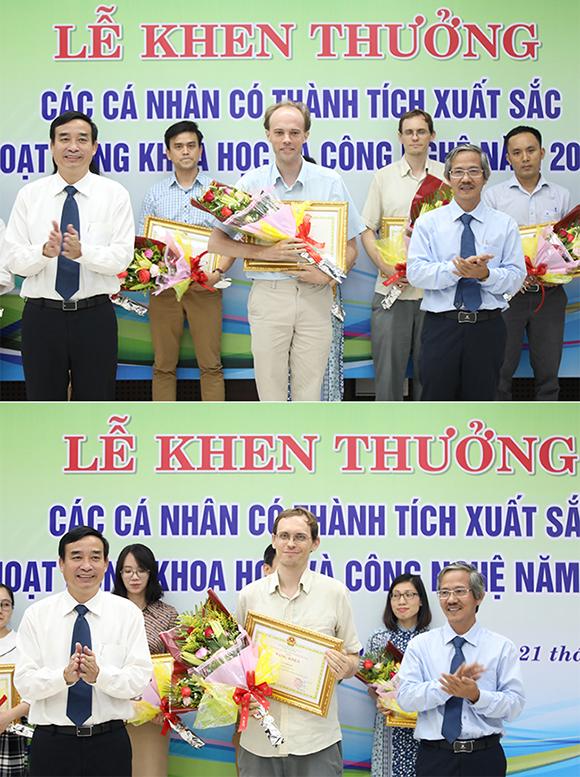 Thành phố Đà Nẵng Trao thưởng cho các Nhà khoa học Đại học Duy Tân năm 2019