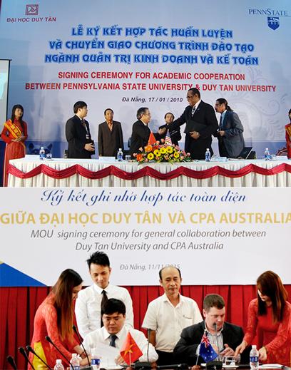 Sinh viên ngành Kế toán DTU được tham gia vào nhiều sân chơi lớn để nâng cao kỹ năng và kiến thức