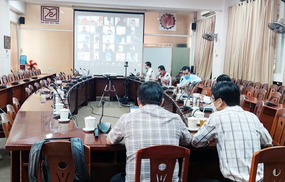Đại học Duy Tân tổ chức thi Vẽ Mỹ thuật Online cho Học sinh THPT năm 2021