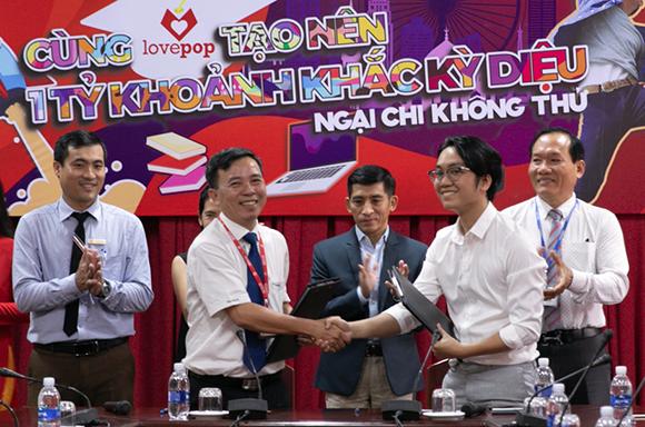 Công ty TNHH Lovepop Việt Nam Ký kết và Tuyển dụng Sinh viên Duy Tân
