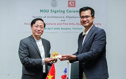 Đại học Duy Tân Ký kết Hợp tác với Đại học Silpakorn, Thái Lan KyketMOU1-81