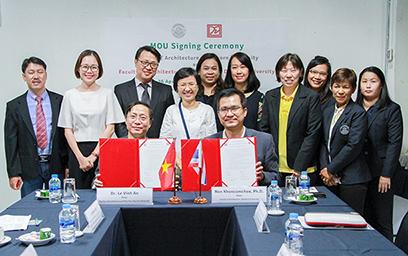 Đại học Duy Tân Ký kết Hợp tác với Đại học Silpakorn, Thái Lan KyketMOU2-43
