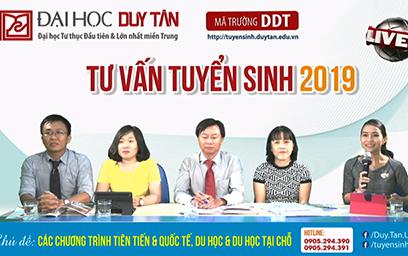 Cán bộ, giảng viên Đại học Duy Tân tham gia Chương trình Livestream 04