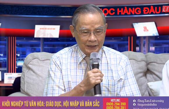 Livestream Talkshow v?i ch? d? Kh?i nghi?p t? Van hóa: Giáo d?c, H?i nh?p và B?n s?c