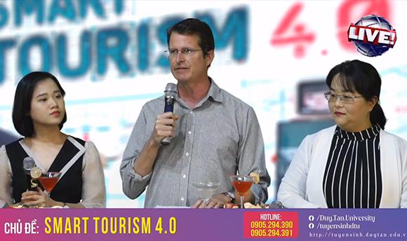 Livestream Tư vấn Tuyển sinh số 4: Smart tourism 4.0