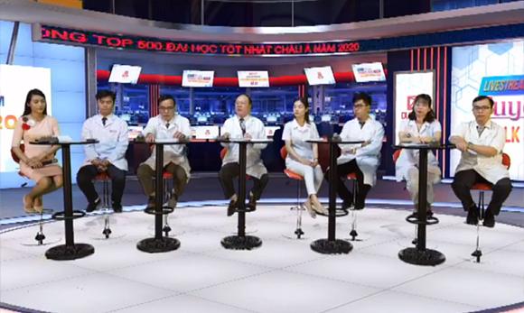 """Livestream Talkshow với chủ đề """"Corona Virus"""" tại Đại học Duy Tân"""
