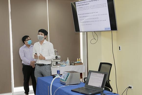 Độc đáo sản phẩm máy thở DTU-VENT để điều trị Covid-19 của một trường đại học