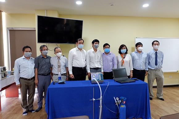 Đại học Duy Tân Nghiên cứu, Chế tạo Máy thở Hỗ trợ iều trị bệnh nhân nhiễm Covid-19