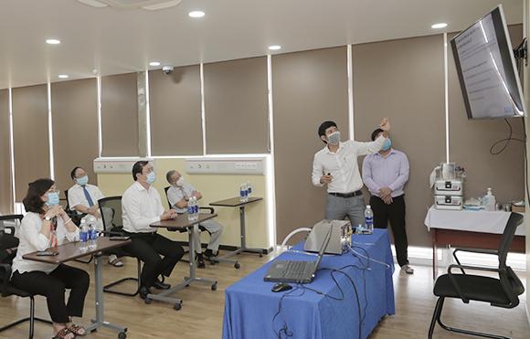 Giới thiệu Sản phẩm máy thở điều trị bệnh nhân nhiễm SARS-CoV-2
