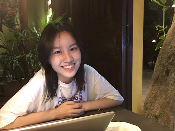 Phạm Trần Mai Ly - Tân sinh viên ĐH Duy Tân