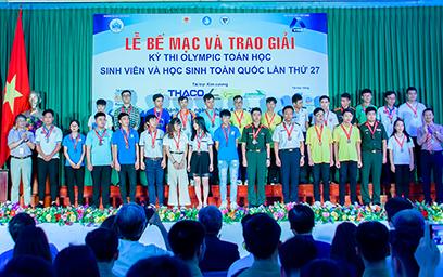 Sinh viên Duy Tân giành nhiều giải Nhì, Ba tại Olympic Sinh viên toàn quốc 2019