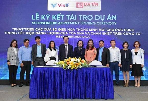 Dự án của Đại học Duy Tân nhận tài trợ của quỹ VinIF