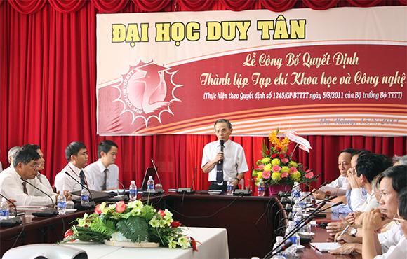 Tạp chí Khoa học & Công nghệ Đại học Duy Tân được tính điểm công trình khoa học thêm 3 ngành: Kinh tế, Văn học và Dược học