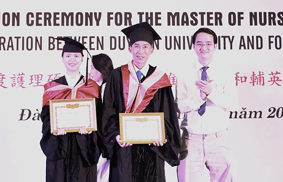 Khóa Thạc sĩ Điều dưỡng Quốc tế đầu tiên do Đại học Duy Tân liên kết đào tạo với Đại học FooYin tốt nghiệp