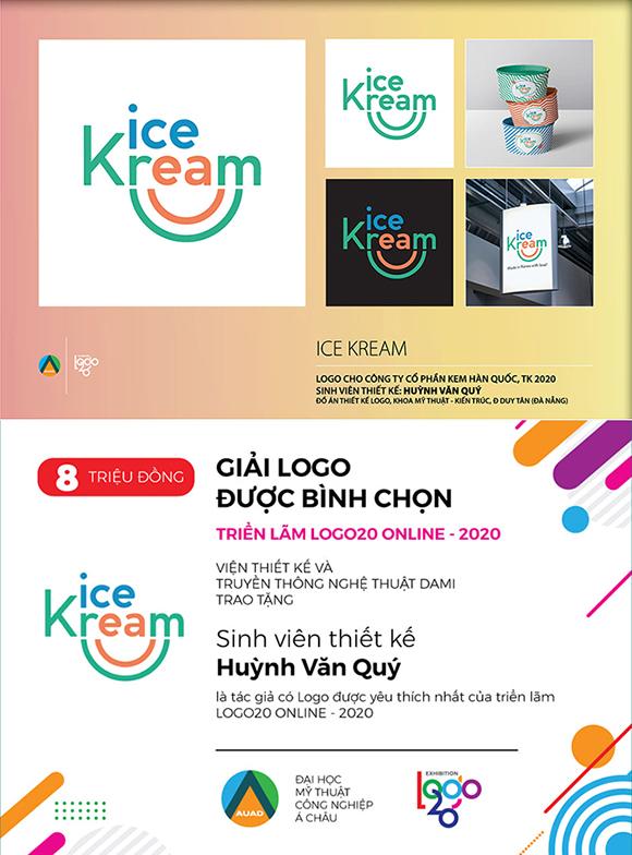 Sinh viên Đại học Duy Tân giành giải thưởng tại triển lãm Logo20 Online