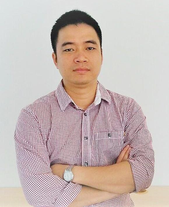 Anh Hồ Nguyễn Quốc Hùng - Phó Giám đốc Công ty Rikkeisoft, chi nhánh Đà Nẵng