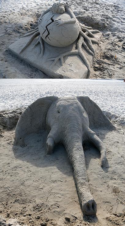"""Cu?c thi """"Xây tu?ng cát trên bi?n 2019"""""""